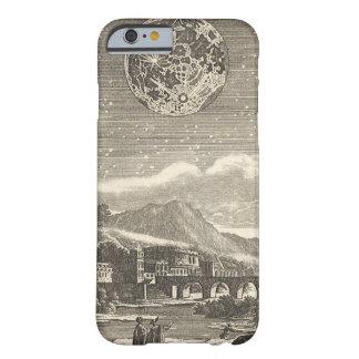 Étoiles célestes de lune de la Renaissance Coque Barely There iPhone 6