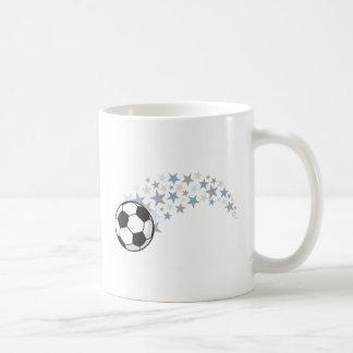 Étoiles du football tasse