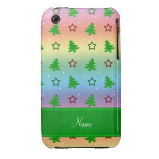 Étoiles nommées personnalisées de Noël Coque iPhone 3