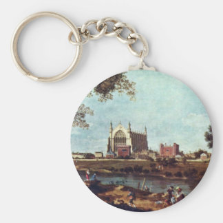Eton College By Canaletto Keychain