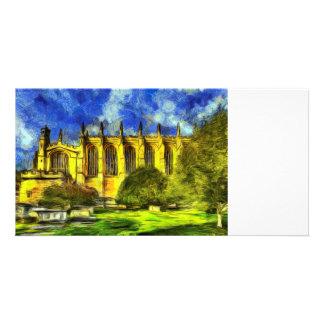 Eton College Chapel Art Card