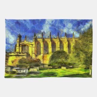 Eton College Chapel Art Kitchen Towel