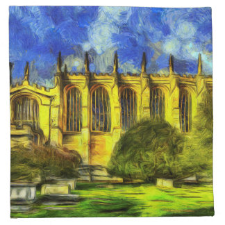 Eton College Chapel Art Napkin