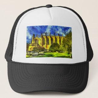 Eton College Chapel Art Trucker Hat