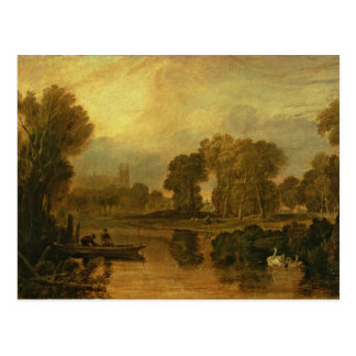 Eton College from the River, or The Thames at Postcard