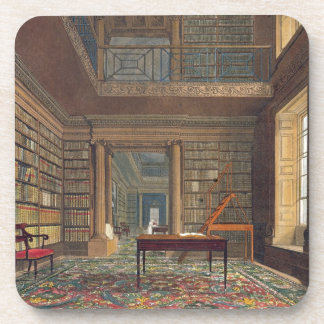 Eton College Library, from 'History of Eton Colleg Beverage Coasters