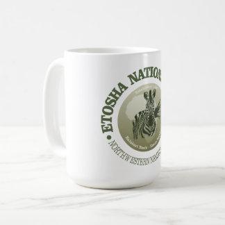 Etosha National Park Coffee Mug