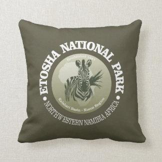 Etosha National Park Throw Pillow