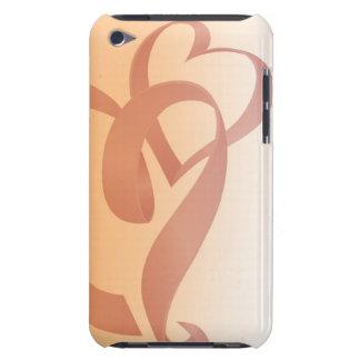 Étreindre le cas de contact d'iPod de rubans Coque Barely There iPod