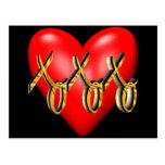 Étreintes et T-shirts et cadeaux de baisers pour e Cartes Postales