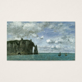 Etretat, the Porte d'Aval Business Card