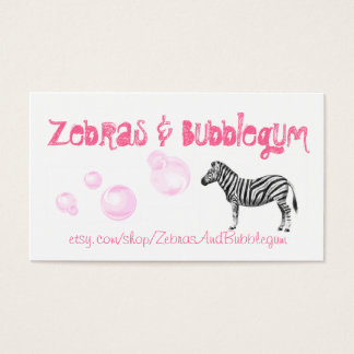 Etsy Business Card - Customizable