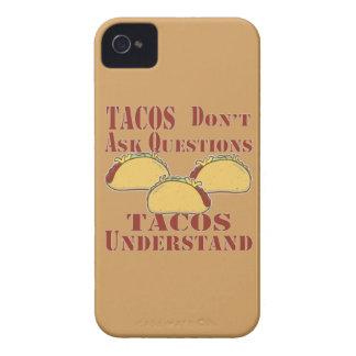 Étui iPhone 4 Les tacos ne posent pas des questions que les