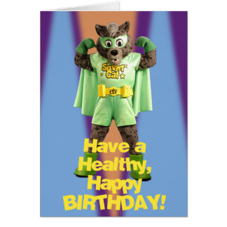 ETV Smart Cat Birthday Card