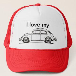 Eu amo Meu Car Trucker Hat