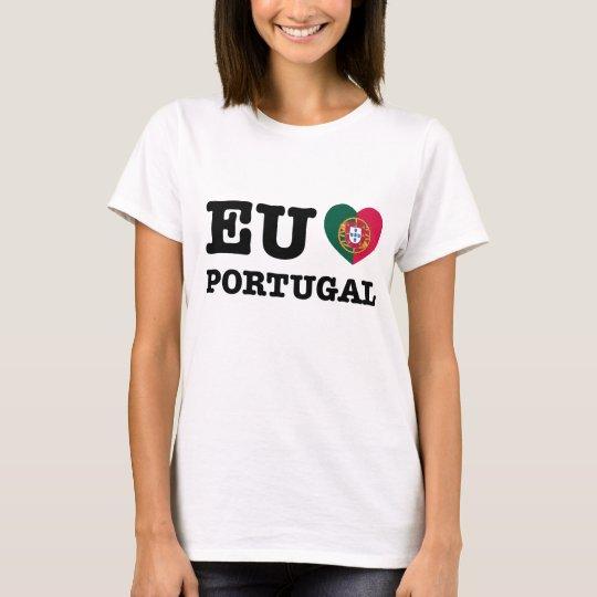 Eu Amo Portugal T-Shirt