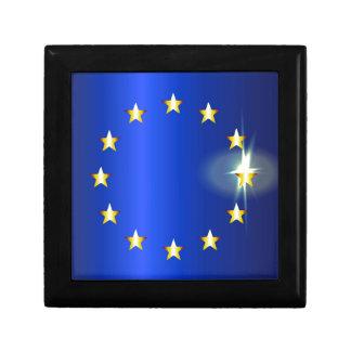 EU Bright Flag Keepsake Box