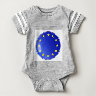 EU Button Baby Bodysuit