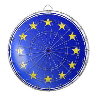 EU Button Dartboard