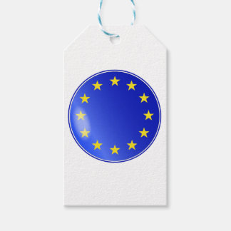 EU Button Gift Tags