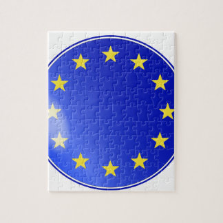EU Button Jigsaw Puzzle