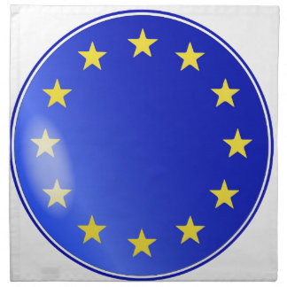 EU Button Napkin
