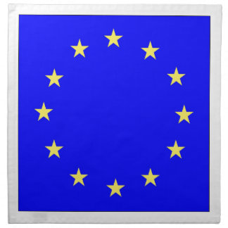 EU European flag Napkin