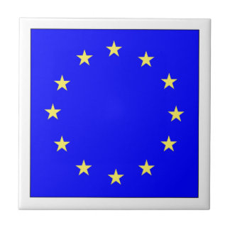 EU European flag Tile