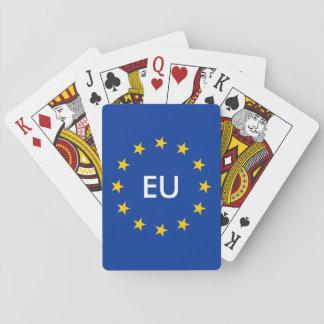 EU EUROPEAN UNION flag playing cards merchandise
