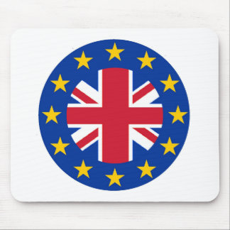 EU - European Union Flag - Union Jack Mouse Pad