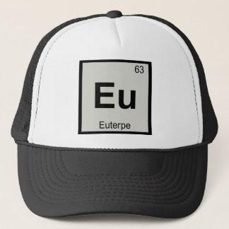 Eu - Euterpe Muse Chemistry Periodic Table Symbol Trucker Hat