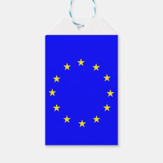 EU flag 2 Gift Tags