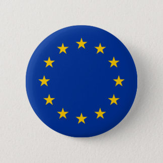 EU flag 2 Inch Round Button