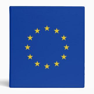 EU Flag 3 Ring Binder