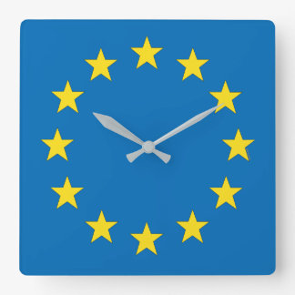 EU flag (European Union) clock for Remainers