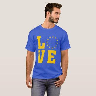 EU Flag, European Union, LOVE T-Shirt