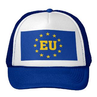 EU Flag, European Union Supporters Hat. Trucker Hat