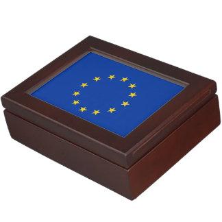 EU Flag Keepsake Boxes