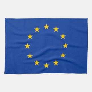 EU Flag Kitchen Towel