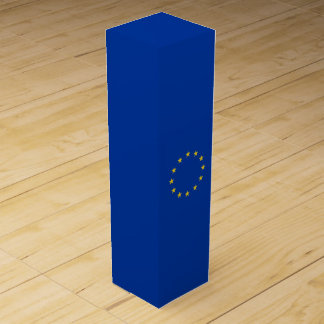 EU Flag Wine Box