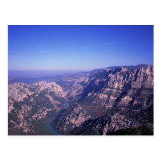 EU, France, Alpes of Provence, Grand Canyon of Postcard