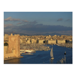 EU, France, Provence, Bouches-du-Rhone, 2 Postcard