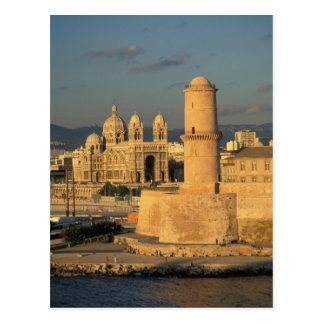 EU, France, Provence, Bouches-du-Rhone, Postcard