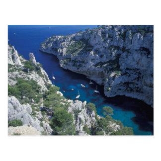 EU, France, Provence, French Riviera Coast, 2 Postcard