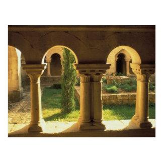 EU, France, Provence, Ganagobie Abbey, Postcard