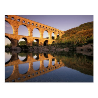 EU, France, Provence, Gard, Pont du Gard. 2 Postcard