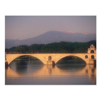 EU, France, Provence, Vaucluse, Avignon. Pont Postcard
