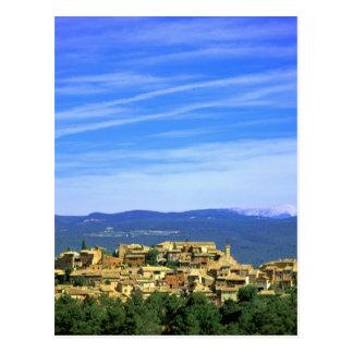 EU, France, Provence, Vaucluse, Roussillon. Postcard