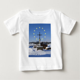 EU French Snowscape Baby T-Shirt