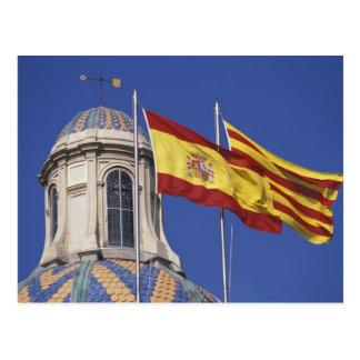 EU, Spain, Catalonia, Palau de la Generalitat. Postcard